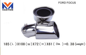 for Ford Focus, Made of Stainless Steel 304b, Exhaust/Muffler Pipe pictures & photos