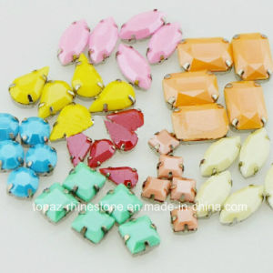 Sharp Color Shoe Accessories Sew on Jewerlly Stones with Claw Setting pictures & photos