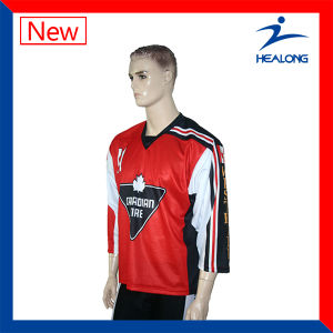 OEM All Over Sublimation Ice Hockey Jerseys with High Quality pictures & photos