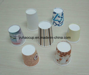 6oz FDA Certified 6-Color Printing Hot Drink Paper Cup (YHC-043) pictures & photos