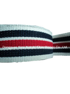 3.8cm Color Plain Polyester Webbing for Shoulder Belt pictures & photos