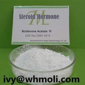 Legal Anabolic Raw Steroid Hormone Powder 2363-59-9 Boldenone Acetate pictures & photos