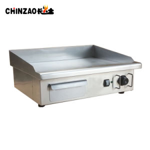 Commercial 55cm Gas Griddle Counter Top Hot Plate Cooker pictures & photos