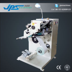 Self-Adhesive Blank Label and Barcode Label Slitter with Turret Rewinder pictures & photos