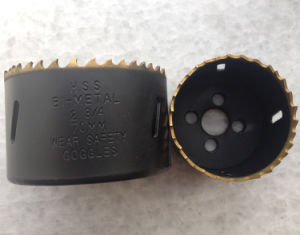 Titanium Coated High Speed Steel Bi-Metal Hole Cutter pictures & photos