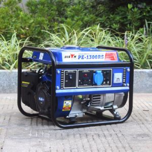 Bison (China) BS1800A 1kw Generator Supplier Round Frame Gasoline Generator pictures & photos