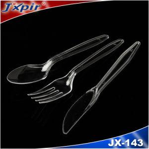 Black Color PS Jx143 Plastic Tableware pictures & photos