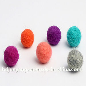 Wool Polyester Felt Ball Colorful of Different Colors pictures & photos