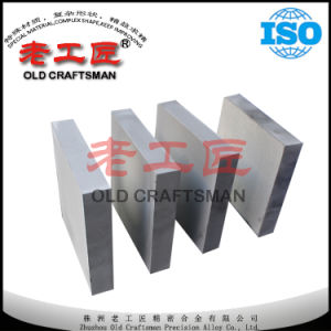 Tungsten Carbide Plate for Mould Part with ISO Certificate pictures & photos