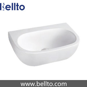 Small Wall Mount Ceramic Wash Basin for Bathroom (3602) pictures & photos