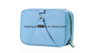 Bw1-191 Wholesale Professional Custom Canvas Travel Cosmetic Makeup Bag pictures & photos