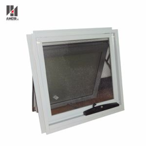 Commercial/Residential White Vertical Double Glass Australia Style Aluminium Awing Windows pictures & photos