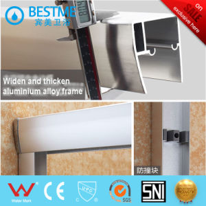 Hot Selling Design Fashion Shower Room with 6mm Tempered Glass (BL-L0006-P) pictures & photos