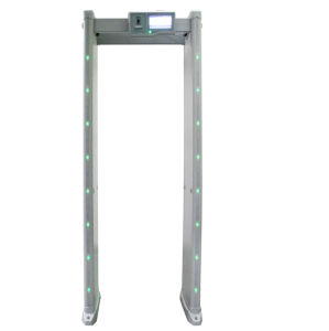 Touch Screen Digital 6 Zone Walk Through Metal Detector pictures & photos