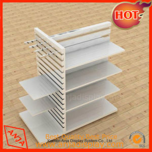 Slatwall Display Stand Slat Wall Display Unit pictures & photos