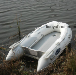 Liya 2-6.5m Cheap Aluminium Deck Plywood Deck Foldable Inflatable Boat pictures & photos
