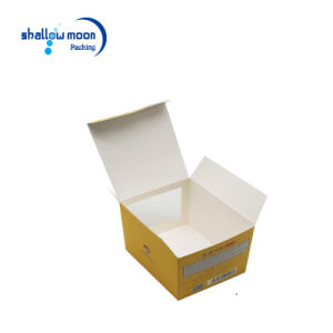 Wholesale Folding Yellow Paper Toy Packing Box with Window (QYZ392) pictures & photos