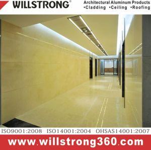 Hospical Interior Rated Antibacterial Aluminum Composite Panel pictures & photos