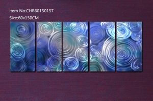 Blue Idear Painting with 100% Hand-Made pictures & photos