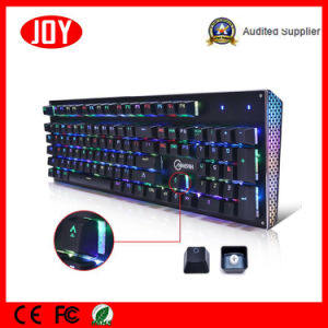 Customized USB Wired RGB Illuminated Keyboard pictures & photos