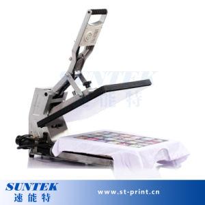 T-Shirt Heat Press Printing Small Heat Press Machine pictures & photos