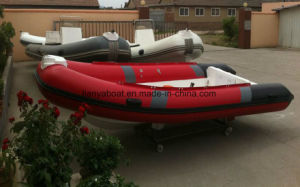 Liya 3-5m Hypalon Rigid Inflatable Boat China Rib Boat pictures & photos