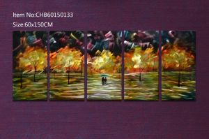 Wall Painting Home Decoration with 3D 100% Hand-Made pictures & photos
