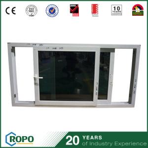 UPVC Window Image High Quality PVC Horizontal Sliding Windows pictures & photos