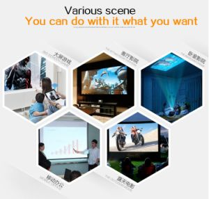 Yi-601 2017 Newest Model Mini DLP Projector Home Use Bluetooth Beamer Hot Sell DLP Projector Built-in WiFi Android pictures & photos