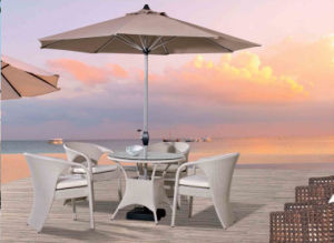Outdoor Leisure Furniture Rattan Table with Chair pictures & photos