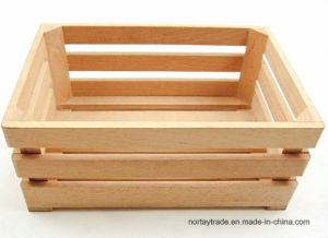 Good Quality Natural Beech Wood Box & Crate pictures & photos