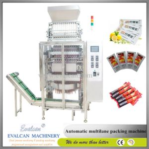 Automatic Form Fill Seal Multi-Lane Coffee Powder Stick Packing Machine pictures & photos