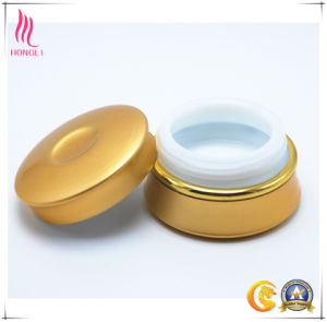 25g Matte Golden Cream Jar for Wholesale pictures & photos
