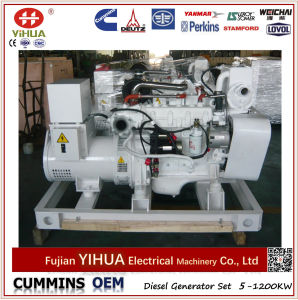 Cummins Engine Open Frame Marine Diesel Generator Set (37.5-500kVA/30-400kw) pictures & photos