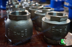 NPT Bsp Thread Screw End Lift Type Non Return Check Valve (H11) pictures & photos