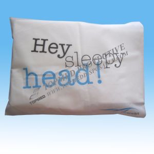 Disposable White Pillow Cover, SMS Pillow Cover for Hotel pictures & photos