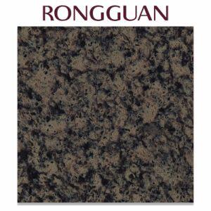 Black Color Big Slab Artificial Marble Quartz for Vanity Top pictures & photos