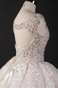 Luxurious Customzie Heavy Beads Ball Bridal Gown Wedding Dress pictures & photos