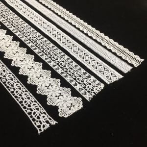 Cheap Beautiful Floral Customized Trim Lace for Lady Garment From Hm Lace pictures & photos