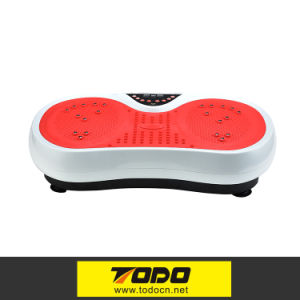 Body Vibration Platform Plate Machine Workout Trainer Fitness pictures & photos