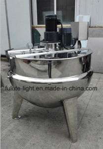 Good Quality Sanitary Stainless Steel Jacket Kettle Cooker pictures & photos