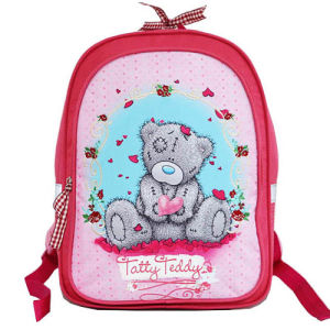 Girls Polyester Backpack 1c School Student Bag pictures & photos