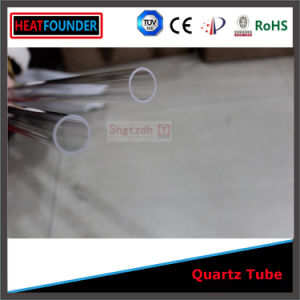 16X1000mm Transparent Fused Silica Quartz Glass Tube (ISO9001: 2008) pictures & photos
