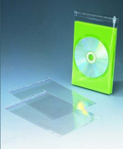 OPP Sleeve for 7mm DVD Case (P-10-7)