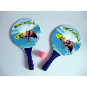Colorful Custom Printin Beach Racket for Promotion pictures & photos