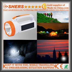 Solar 1W LED Torch with SMD LED Desk Light (SH-1983) pictures & photos