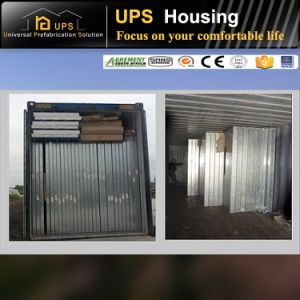 ISO Certificated Prefabricated Sandwich Panel House for Apartment with Garage pictures & photos