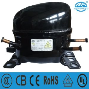 R600A Refrigeration Compressor (QD75YG) Suitable for Freezer pictures & photos