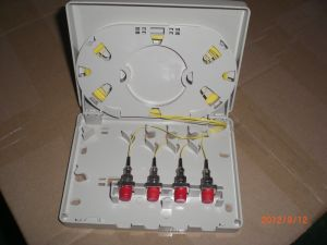 4 Cores Optical Cable Distribution Box pictures & photos