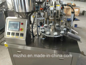 Electric Large Volume 300ml Liquid Cream Filling and Sealing Machine pictures & photos
